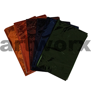 Assorted Coloured Cellophane 750x1000mm 25 sheets