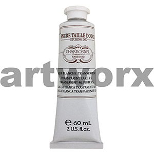 White Transparent Lake RS s3 60ml Charbonnel Printing Ink