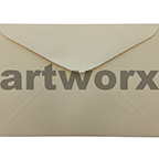 China White C6 Envelope