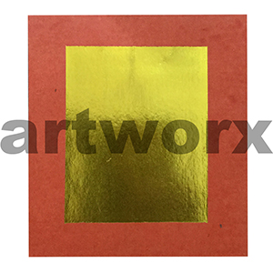 Gold Small Printed Chinese Paper Per Sheet