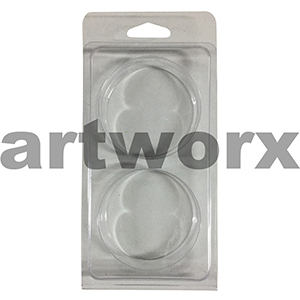 Clam Shell 2 Circle Mould