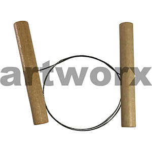 450mm Cutting Clay Wire Toggle Pottery Pottery Tool