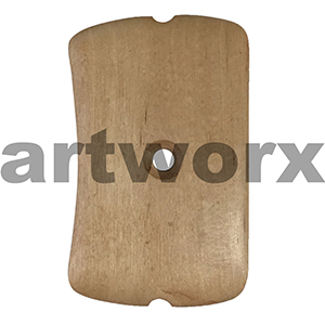 #4 Clay Wooden Pottery Tools