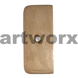 #6 Clay Wooden Pottery Tools