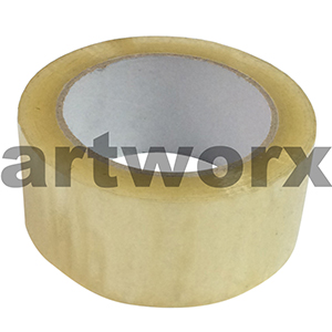 48mmx75m 50 Micron Packing Tape Clear