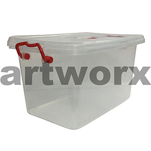 250x380mm Large Clip Store & Carry Storage Container