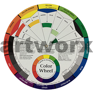 Large Artist Colour Wheel