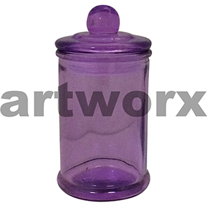 Purple Apothecary Jar Small