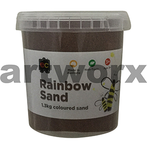 Chocolate Brown Colored Sand 1kg