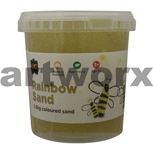 Yellow Colored Sand 1kg