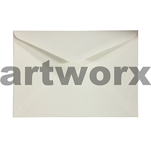 20pc White Colourful C6 Envelope
