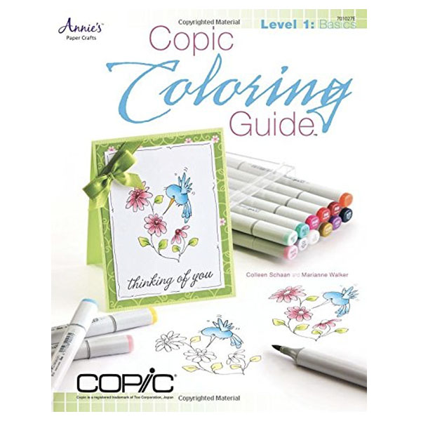 Colouring Guide Level 1 Copic Basics Book