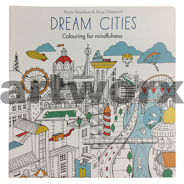 Dream Cities Colouring For