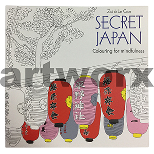 Secret Japan Colouring for Mindfulness