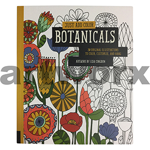 Botanicals Adult Colouring Book