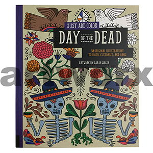 Colouring Book Day of the Dead