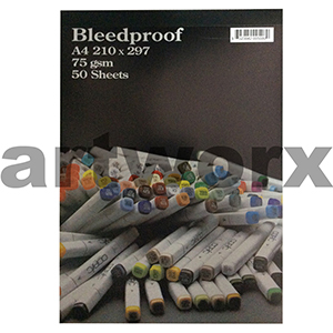 A4 Copic Bleedproof 70gsm 50 sheets