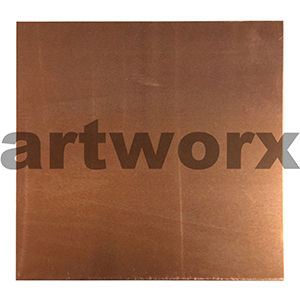 0.99mm 200x150mm Copper Printing Sheet