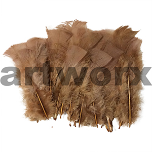 Soft Fluffy Feathers Fawn 10oz