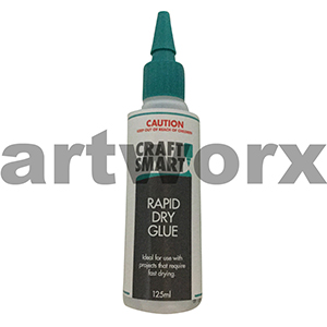 Rapid Dry Glue 125ml Craft Smart
