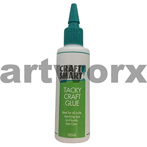 Tacky Craft Glue 125ml Craft Smart