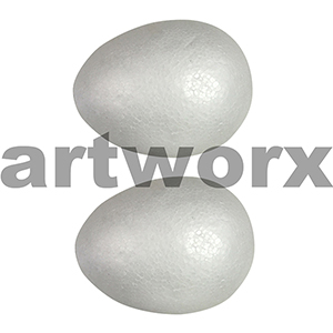 Poly Eggs 100mm 2pc