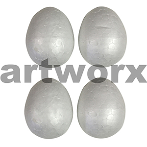 Poly Eggs 75mm 4pc