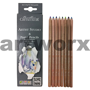 8pc Still Life Basics Cretacolor Artist Studio Pastel Pencils