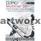 Copic Multiliner SP Comic Illustration Inking Techniques DVD