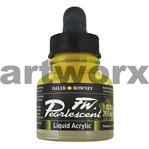 Hot Cool Yellow 29.5ml Daler Rowney FW Ink