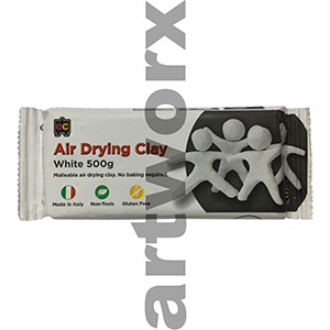 500gm White Das Clay