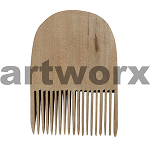 Clay Decorating Comb Wooden Pottery Tools