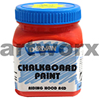 Derivan Riding Hood Red 250ml Chalkboard Paint