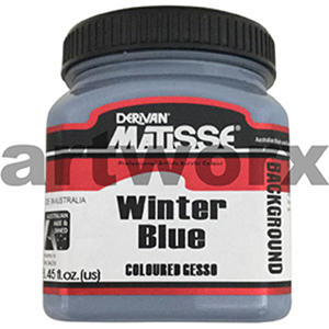 Winter Blue 250ml Background Acrylic Matisse Paint