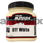 Off White 250ml Background Acrylic Matisse Paint