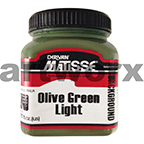 Olive Green Light 250ml Background Acrylic Matisse Paint