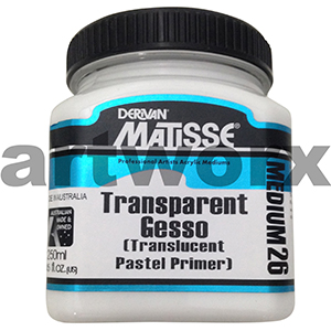 Transparent Gesso 250ml Matisse Medium