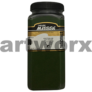 Australian Sap Green s3 500ml Matisse Structure Acrylic Paint