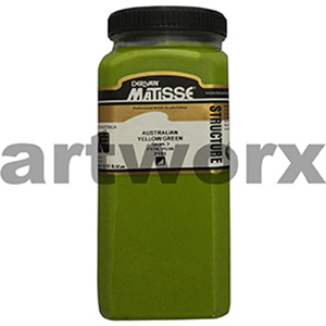 Australian Yellow Green s3 500ml Matisse Structure Acrylic Paint