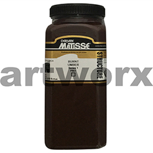 Burnt Umber s1 500ml Matisse Structure Acrylic Paint