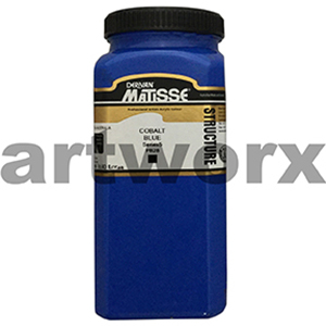 Cobalt Blue s5 500ml Matisse Structure Acrylic Paint