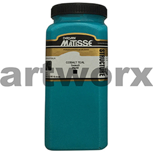 Cobalt Teal s5 500ml Matisse Structure Acrylic Paint