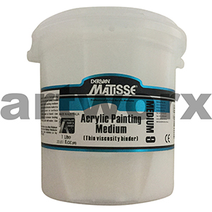 Acrylic Painting Medium 1 Litre Matisse Medium