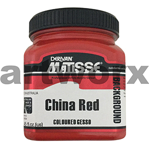 China Red 250ml Background Acrylic Matisse Paint