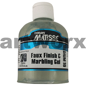 Faux Finish & Marbling Gel 250ml Matisse Medium
