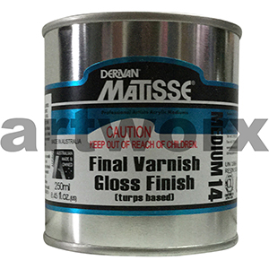 Final Varnish Gloss Finish 250ml Matisse Medium