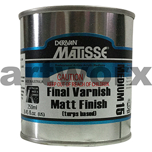 Final Varnish Matt Finish 250ml Matisse Medium