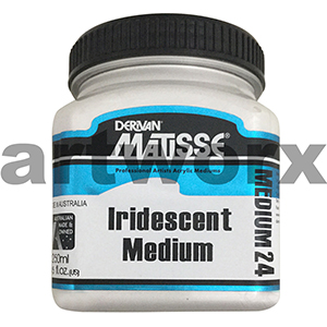 Iridescent 24 250ml Matisse Medium