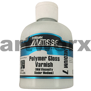 Polymer Gloss Varnish 250ml Matisse Medium