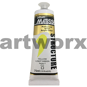 Yellow Light Hansa s2 Derivan Matisse Structure 75ml